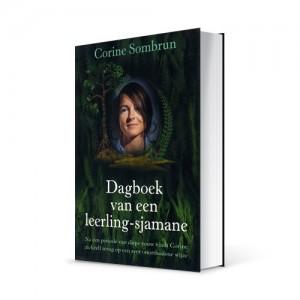 """Photo du livre """"Dagboek van een leerling-sjamane"""" de Corine Sombrun (Éd. de-boekerij / 2003)"""