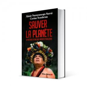 """Photo du livre """"Sauver la planète"""" de Corine Sombrun (Éd. Albin Michel / 2015)"""
