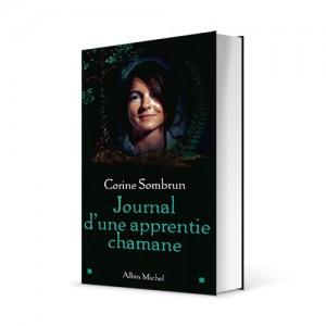 """Photo du livre """"Journal d'une apprentie chamane"""" de Corine Sombrun (Éd. Albin Michel / 2002)"""