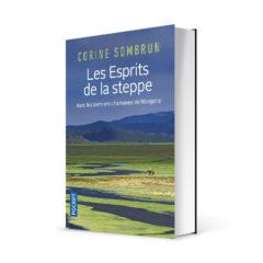 """Photo du livre """"Les esprits de la steppe"""" de Corine Sombrun (Éd. Pocket / 2019)"""