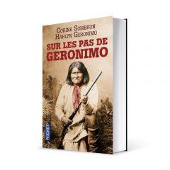 """Photo du livre """"Sur les pas de Geronimo"""" de Corine Sombrun (Éd. Pocket / 2014)"""